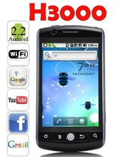 H3000 cell phone TV Android 2.2 WiFi Java CECT Black