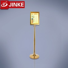 Stainless Steel Stanchion Post Sign Frame Signboard