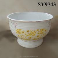 Europe style indoor decoration porcelain planter pot