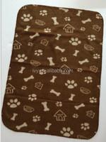 100% polyester animal prints polar fleece Blanket