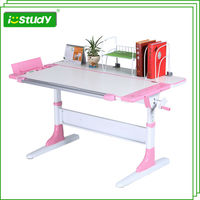 Hight Adjustable Kids Study Table/ Child Writing Desk
