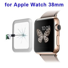 0.2mm 8-9H full covered tempered glass screen protector for Apple Watch screen protector 38mm