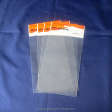 Transparent clear opp bopp mobile phone accessories plastic packaging bag /opp self sealing plastic bag/opp header bag