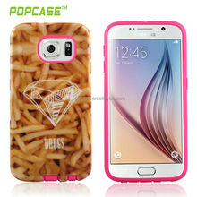 High-grade fashion phone case cover Ultra-thin flexible TPU case for galaxy s6 mobile case