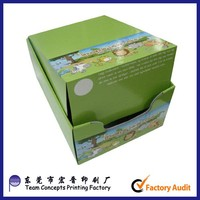 CD DVD Retail Small Cardboard Paper Display Boxes