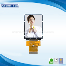 Small size 2.8 '' resolution 240x320 Parallel Interface 36 PIN panel display
