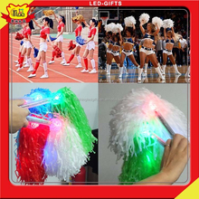 2015 Newest Promotion Gifts And Basketball Matchs Led Cheer Pom Pom Night Match Led Flashing Decorations