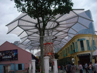 Membrane roof structure ,fabric roof structure