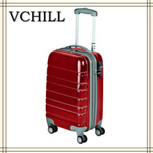 Best Selling navy club trolley luggage travel suitcase