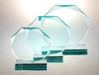 engraved pop acrylic award blanks