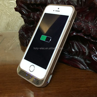 Factory Direct Sell Mobie Phone Power Charger Case For Iphone 5S 5 Rechargeable Battery Case