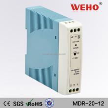 China led manufacturer high efficiency 20w 110v ac to 12v dc power supply