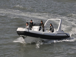 Inflatable boat 2015 new arrival Liya 24.6ft double engine boat