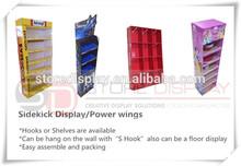 custom cabide stand exposição de assoalho para a china meia publicidade da china fornecedor
