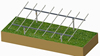 Ground screw Solar Mounting,10kw solar pv system,solar panel mounting structure AG