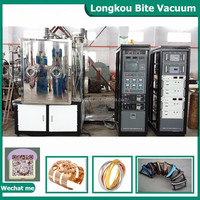 Wrist watch parts stainless steel thine film pvd plating machine/PVD vacuum coating machine to gold plated costume jewelry