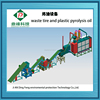 2015 New high yield efficiency waste tyre recycling machine for oil