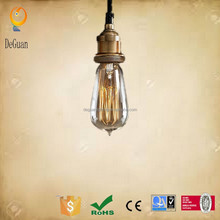 2015 hot selling Vintage and Brass E27 Lamp Holder Edison style light bulbs
