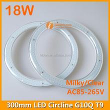 CE RoHS 300mm 18w T9 G10Q circular led circle ring light