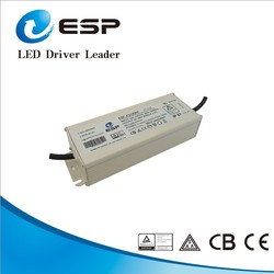 waterproof IP67 electronic led driver 120W constant current 3600ma 20-38v with 5 years warranty
