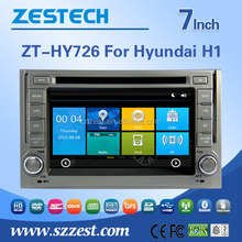 Wholesale alibaba DVD stereo gps navi multimidea player car audio dvd player for Hyundai H1 support BT SWC OBD 3g