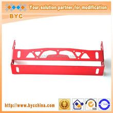 Colorful Decorative Aluminum Adjustable Red Car Number License Plate Frame