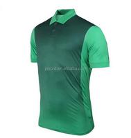 all over sublimation printing t shirt design mens polo shirt green printing shirt