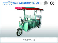 48V/12ah disabled people three wheels electric tricycle
