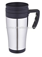 snowman stainless steel plastic coffee cups wholesale with lid