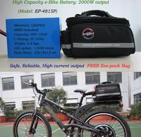 ebike lifepo4 battery 36V 10AH/36V 12AH lithium ebike battery pack /rechargeable battery pack