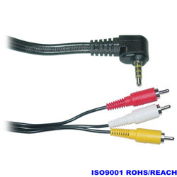 Optical to rca cables stereo plug audio cable