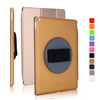 Wholesale Magic Hand Strap Holder 360 Degree Rotating Cover Leather Case with Auto Wake Up for iPad Pro