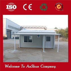 Durable Movable Garbage fast prefab houses