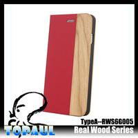fancy Customize leather wood case for samsung galaxy note 3 cover