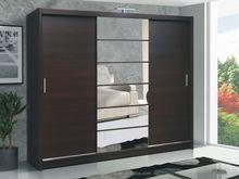 Cheap closet wardrobe designer almirah with sliding glass door bedroom cupboard design for bedroom