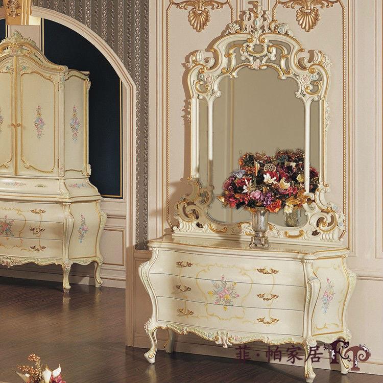 In stile rococo in stile classico di lusso mobili della casa mobili della casa altri mobile - Casa stile classico ...