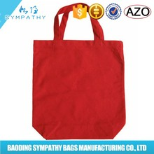 Canvas tote bag bulk cotton material promotional product