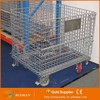 professional metal storage cages with 4 wheels