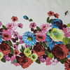 Hot selling wholesale suppliers plain floral printed 100% cotton fabric