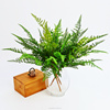factory direct wholesale high quality artificial flower leaves plastic fern leaf