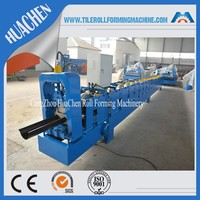 5 inch Rain Gutter Cold Roll Forming Machine Hot