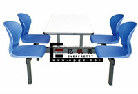 Cheap Wholesale Customised Dining Furniture Canteen Dining Table and Chair