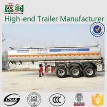 Best selling transport liquid oil Carbon steel fuel tanker truck/China Manufacturer steel fuel tanker trailer