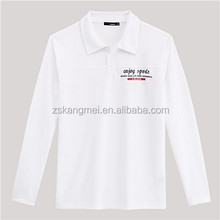 Custom lapel shirt cotton nightwear corporate promotional gifts T shirt foreign trade activities