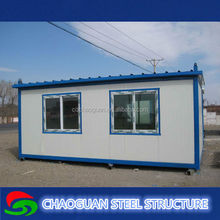 Cheap elegant flat pack office container house, store container house, catport