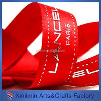 high quality grosgrain ribbon/ribbon printing machine/ribbon work embroidery designs