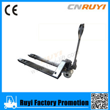 Peru stainless steel hydraulic hand pallet jack promotion