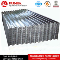 shandong china low price prepaint zinc polycarbonate corrugated sheet for roofing