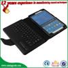 Wholesale Flip Bluetooth keyboard leather case for Samsung Galaxy Tab Pro 8.4 T320 keyboard case
