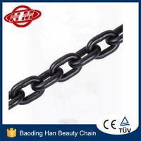 DIN5685 black iron lifting chain